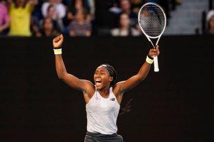 Austalian Open: Coco Gauff, de 15 años, eliminó a la campeona defensora Naomi Osaka