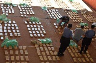 Secuestran más de una tonelada y media de marihuana en Corrientes y Misiones