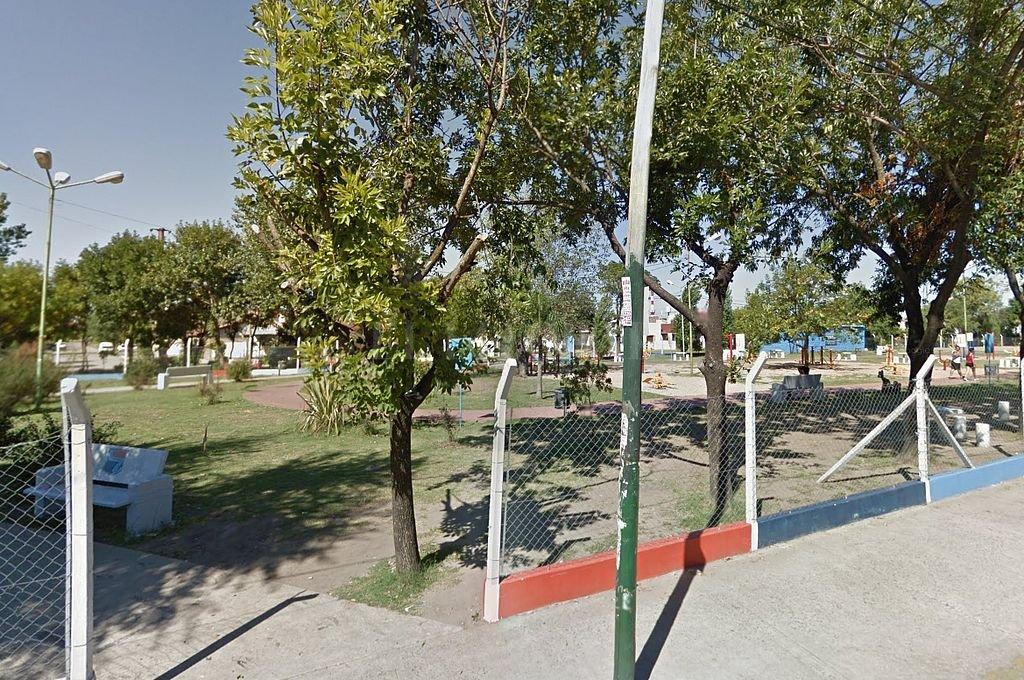 Parque donde fue hallada el cuerpo. Crédito: Captura digital - Google Maps Streetview