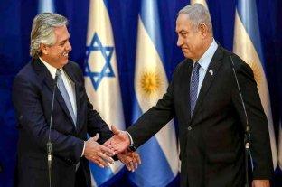 Alberto Fernández regresa tras su visita a Israel -  -