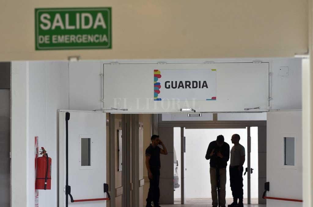 El herido fue asistido en el hospital Iturraspe Crédito: Mauricio Garín
