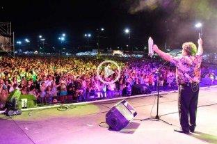 Los Palmeras y otro multitudinario show, ahora en Concepción del Uruguay -