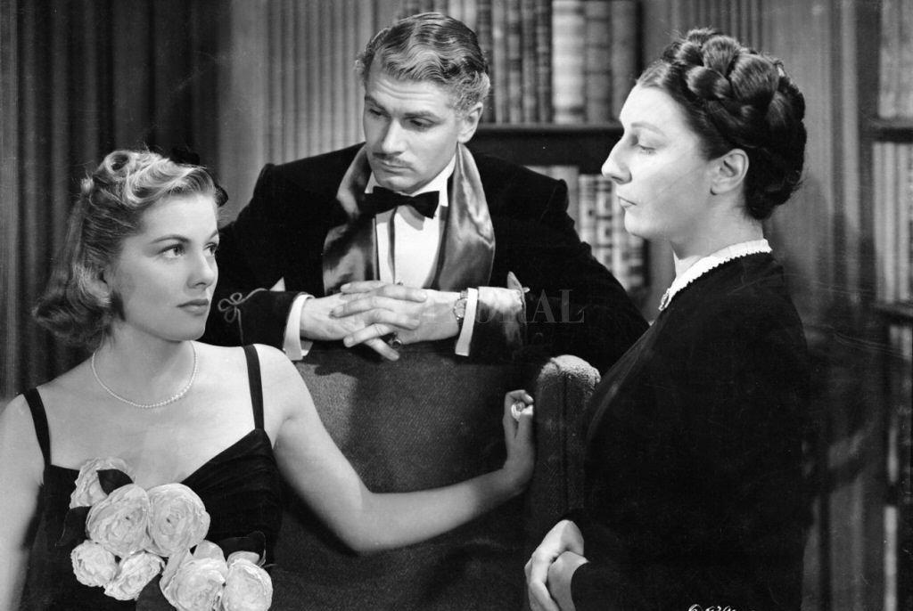 Joan Fontaine, Laurence Olivier y Judith Anderson estelarizan la cinta basada en la de novela de Daphne du Maurier. Crédito: Gentileza SEC