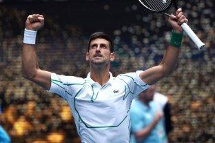Schwarztman perdió ante Djokovic y se despidió del Abierto de Australia -  -