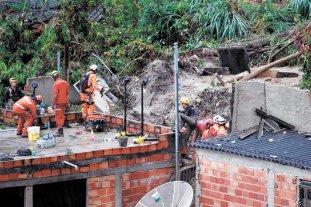 Declaran la emergencia en 47 ciudades de Brasil por las lluvias que dejaron 38 muertos