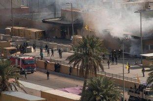 Nuevo ataque con cohetes en cercanías de la Empajada de EEUU en Bagdad