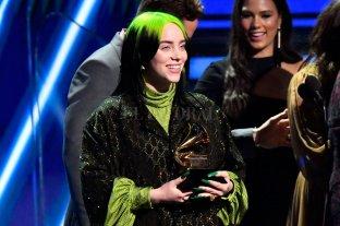 Billie Eilish, la gran protagonista de los Grammy