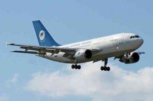 Un avión se estrelló en Afganistán