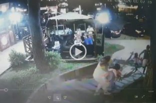 Video: Una niña y su padre resultaron heridos al caer un pino en un paseo de Costa del Este -  -