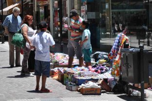 La venta callejera ilegal creció en el último trimestre de 2019