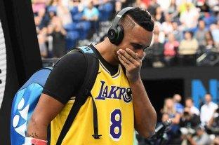 Nick Kyrgios y un emotivo homenaje a Kobe Bryant