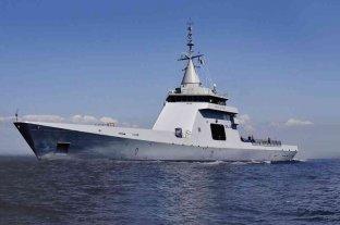 La Armada incorporó un patrullero oceánico