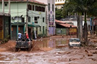 Ya son 45 los muertos en Brasil por las lluvias y declararon la emergencia en 101 municipios