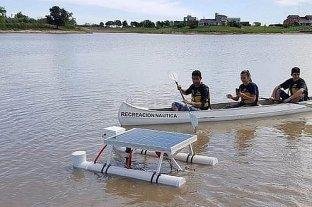 Estudiantes entrerrianos presentarán un drone acuático en una Feria de ciencias en México