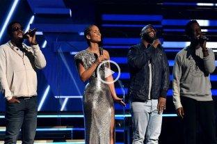 Alicia Keys homenajeó a Kobe Bryant en los Grammy