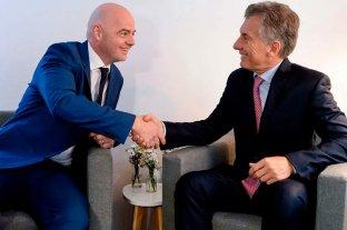 Mauricio Macri fue nombrado presidente de la Fundación FIFA
