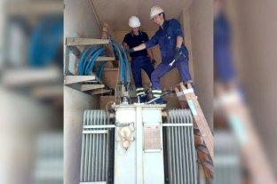 Instalan un transformador para la planta potabilizadora de Assa