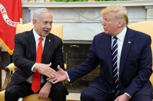 Trump presentó su esperado plan de paz para resolver el conflicto entre Israel y Palestina -  -