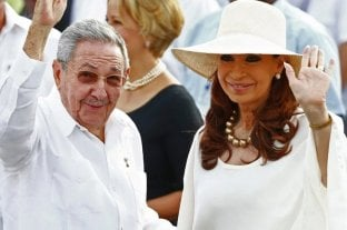 Cristina Kirchner volverá a Cuba en febrero para visitar a su hija