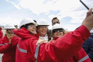 Cristina Kirchner visitó las obras de una represa en Santa Cruz con Ferreyra, procesado en la causa de los cuadernos