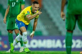 Brasil ganó y clasificó a la fase final del preolímpico