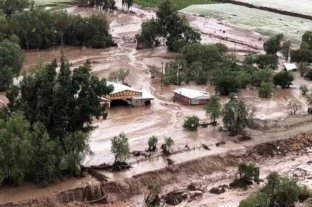 Al menos un muerto y dos desaparecidos tras la crecida de ríos en Chile
