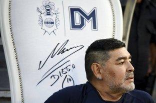 Comenzó la subasta del sillón de Maradona