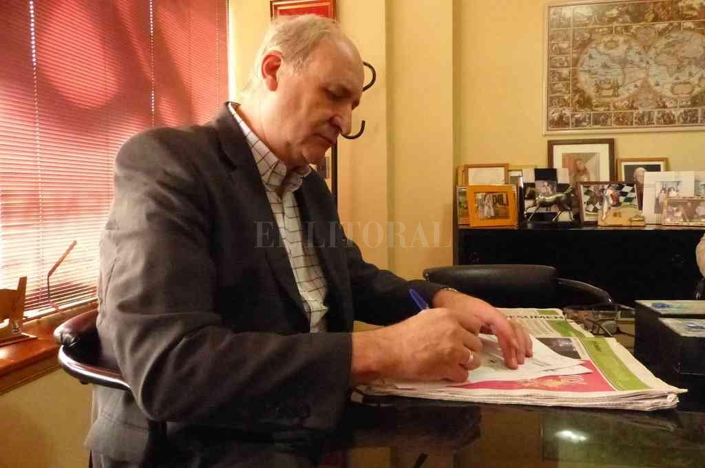 """El intendente de la ciudad, Enrique Marucci y mediante un decreto, declaró a la localidad en """"estado de alerta durante el año en curso"""". <strong>Foto:</strong> El Litoral"""