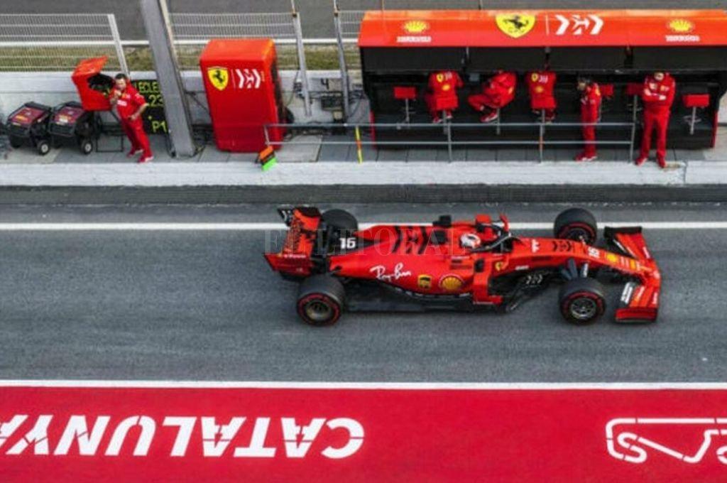 Ferrari siempre es noticia. Ahora, en medio de los preparativos para la temporada 2020, se plantean algunas dudas sobre algunos aspectos del nuevo modelo de Maranello.   <strong>Foto:</strong> gentileza F1.com