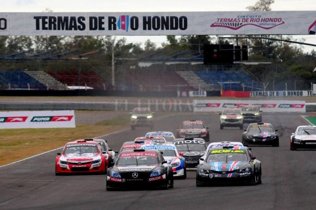 Clásica imagen de la categoría. En este caso, en el Autódromo de Termas de Río Hondo. <strong>Foto:</strong> Archivo El Litoral