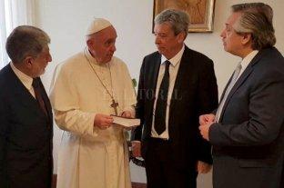 El Papa recibirá el viernes al presidente Alberto Fernández