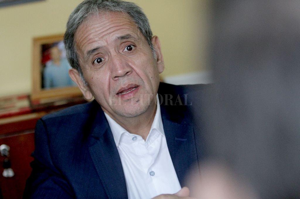 Sergio Palazzo, secretario general de La Bancaria. Crédito: Pablo Aguirre