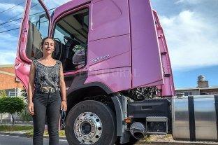 """Finalmente, Sabina obtuvo su camión """"rosa"""""""
