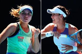 Kenin y Muguruza definirán el título del Abierto de Australia