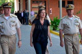 La ministra de Seguridad de Nación, Sabina Frederic, llega a la ciudad de Santa Fe