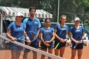 Tres santafesinas listas para representar a Argentina en la Fed Cup