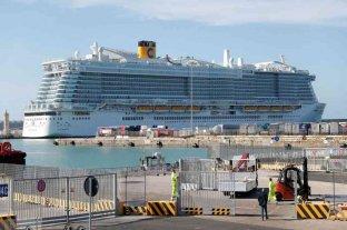 Un crucero quedó en cuarentena en Italia por posibles casos de coronavirus