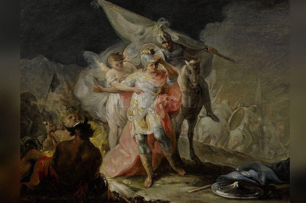 Obra del pintor español subastada en Nueva York. <strong>Foto:</strong> Sotheby's