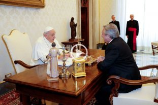 Video: Así se encontraron Alberto Fernández y el papa Francisco