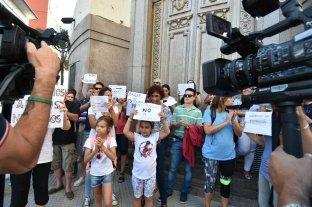 Protesta de deudores hipotecarios de créditos UVA en Santa Fe