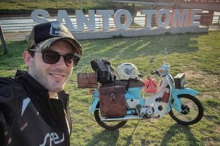 Unirá Santa Fe con Alaska en moto
