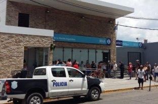 Robo, tiros y muerte en un Banco Nación
