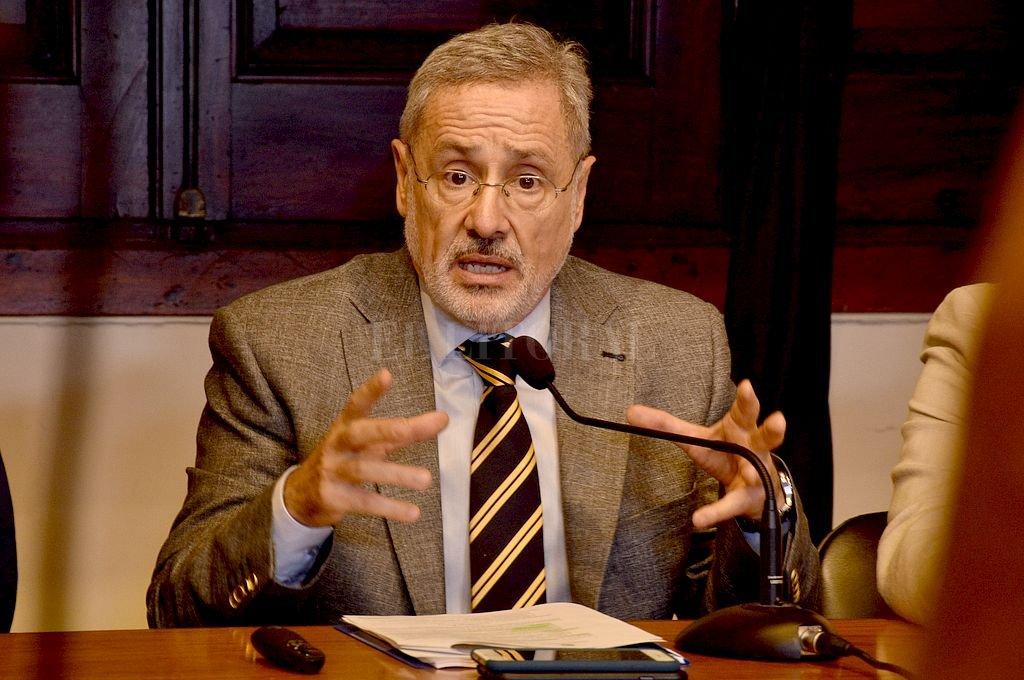 Marcelo Sain, ministro de Seguridad de la provincia. <strong>Foto:</strong> Guillermo Di Salvatore