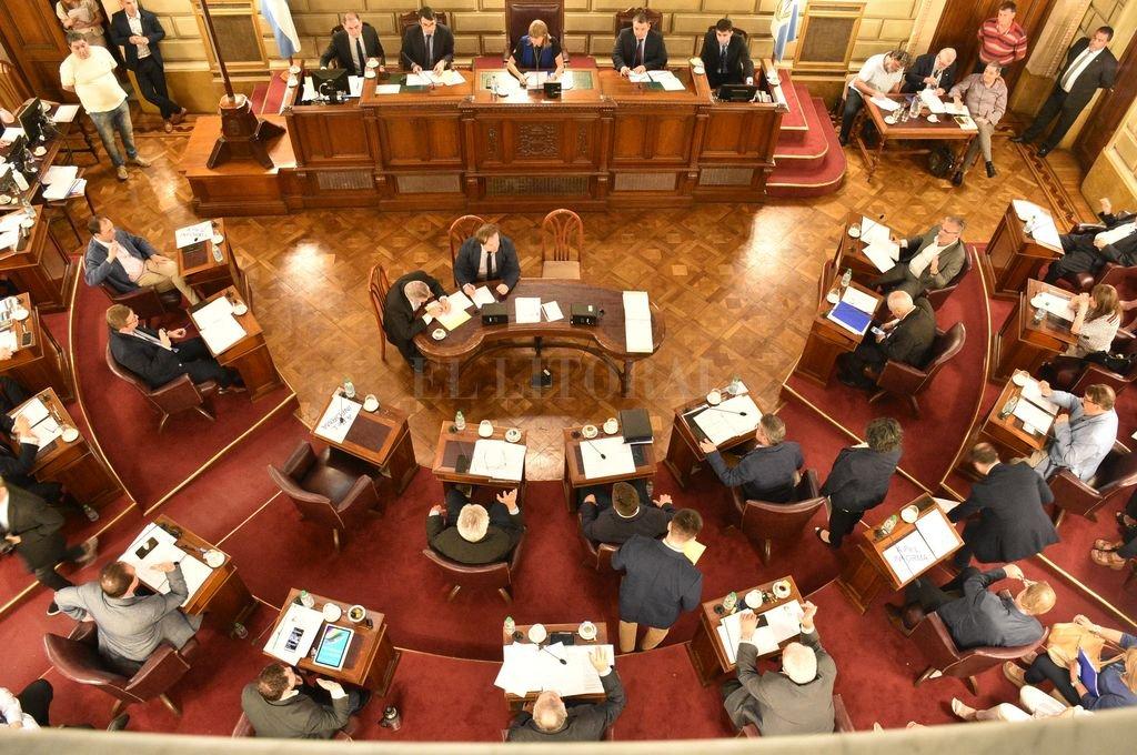 El Senado será cámara de origen sobre la ley de Necesidad Pública. Crédito: Luis Cetraro
