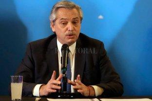 """Alberto Fernández dijo que la """"primera obligación"""" del Gobierno es para los que """"tienen la urgencia"""" -  -"""