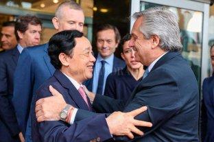 Alberto Fernández se reunió con funcionarios de la FAO