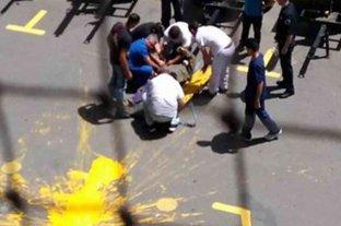 Murió el obrero que cayó de un andamio en La Bombonera