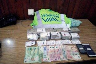Secuestro de droga y detenidos en un operativo de tránsito cerca de Rafaela