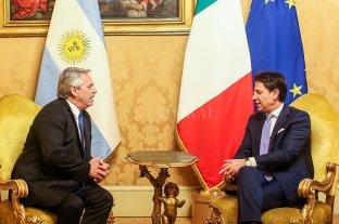 Italia comprometió su apoyo parta renegociar la deuda