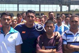 Un equipo de rugbiers formado por presos se solidarizó con la familia de Fernándo Báez Sosa